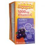 Alacer Emergen-C Acai Berry 30/0.30 oz Packets Immune Support