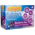 Alacer Emergen-C Immune Plus Blueberry-Acai 30/0.32 oz Packets Immune Support