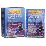 Alacer Emergen-C Immune Plus Blueberry-Acai 10/0.30 oz Packets Immune Support