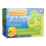 Alacer Emergen-C Immune Plus – Citrus 30/0.31 oz Packets Immune Support