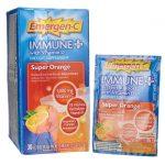 Alacer Emergen-C Immune Plus – Super Orange 30/0.33 oz Packets Immune Support
