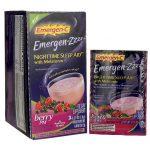 Alacer Emergen-C Emergen-Zzzz Nighttime Sleep Aid Berry Pm 24/0.27 oz Packets Immune Support