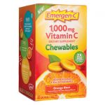 Alacer Emergen-C Vitamin C Chewables Orange Blast 40 Chewables Immune Support