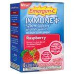 Alacer Emergen-C Immune Plus Raspberry 10/0.32 oz Packets Immune Support