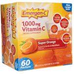 Alacer Emergen-C Super Orange 60/0.32 oz Packets Immune Support