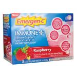 Alacer Emergen-C Immune Plus Raspberry 30/0.32 oz Packets Immune Support
