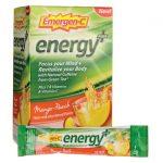 Alacer Emergen-C Energy Plus – Mango-Peach 18/0.33 oz Packets