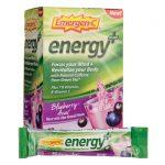 Alacer Emergen-C Energy Plus – Blueberry-Acai 18/0.33 oz Packets