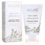 Acure Night Cream 1.7 fl oz Cream Skin Care