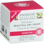 Andalou Naturals 1000 Roses Beautiful Day Cream 1.7 fl oz Cream Skin Care