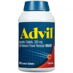 Advil 200 mg 300 Tabs Pain Relief