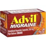Advil Migraine 200 mg 80 Caps Pain Relief