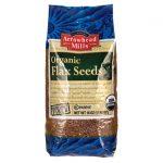Arrowhead Mills Organic Flax Seeds 16 oz Package Essential Fatty Acids