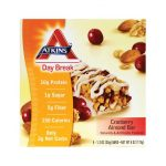 Atkins Day Break Bar Cranberry Almond 5/1.2 oz Bars Weight Loss
