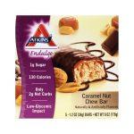 Atkins Endulge Bar Caramel Nut 5/1.2 oz Bars Weight Loss