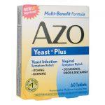 i-Health, Inc Azo Yeast Plus 60 Tabs Women's Health