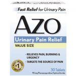 i-Health, Inc Azo Standard Urinary Pain Relief 30 Tabs Urinary Health