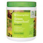 Amazing Grass Green Superfood Energy – Lemon-Lime 7.4 oz Powder