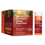 Amazing Grass Green Superfood Energy – Tropical 60 Tabs