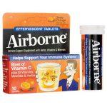 Airborne Effervescent Orange 10 Tabs Immune Support