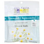 Aura Cacia Tranquil Chamomile Aromatherapy Mineral Bath 2.5 oz Package