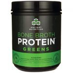 Ancient Nutrition Bone Broth Protein – Greens 17.8 oz Powder Joint Health