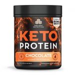 Ancient Nutrition Keto Protein – Chocolate 19 oz Powder