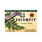 Auromere Ayurvedic Bar Soap Vanilla Neem 2.75 oz Bars