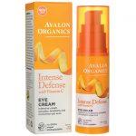 Avalon Organics Intense Defense Eye Cream with Vitamin C 1 oz Cream Skin Care