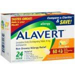 Alavert Allergy Odt – Citrus Burst 60 Tabs