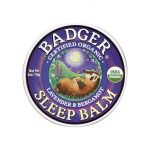 Badger Organic Sleep Balm Lavender and Bergamot 2 oz Balm Sleep and Relaxation