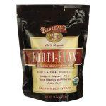 Barlean's Organic Forti-Flax Premium Ground Flaxseed 14 oz Package Essential Fatty Acids