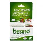 Beano 30 Tabs Digestive Health and Fiber