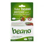 Beano 100 Tabs Digestive Health and Fiber