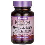 Bluebonnet Nutrition Earthsweet Chewables Methylcobalamin Vitamin B12 1,000 mcg 60 Chewables B Vitamins