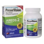Bausch & Lomb Preservision Areds 2 Formula 120 Soft Gels Vision Health