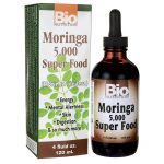 Bio Nutrition Moringa 5,000 Super Food 4 fl oz Liquid Herbs and Supplements