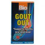 Bio Nutrition Gout Out 60 Veg Caps Joint Health