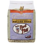 Bob's Red Mill Gluten Free Old Fashioned Rolled Oats 32 oz Package Digestive Health and Fiber