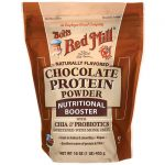 Bob's Red Mill Chocolate Protein Powder Nutritional Booster 16 oz Package