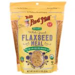 Bob's Red Mill Organic Whole Ground Flaxseed Meal 16 oz Package Essential Fatty Acids