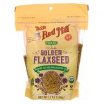 Bob's Red Mill Organic Whole Golden Flaxseed 13 oz Package Essential Fatty Acids
