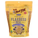 Bob's Red Mill Premium Whole Ground Flaxseed Meal 16 oz Package Essential Fatty Acids