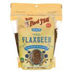 Bob's Red Mill Premium Whole Flaxseed 13 oz Package Essential Fatty Acids