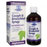 Boericke & Tafel Nighttime Cough Bronchial Syrup 8 oz Liquid Cold and Flu