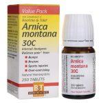 Boericke & Tafel Arnica montana 30c 250 Tabs Muscle Pain and Stiffness
