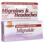 Boericke & Tafel Migraide 40 Tabs
