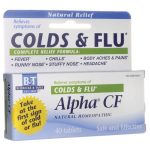 Boericke & Tafel Alpha Cf Colds flu 40 Tabs Cold and Flu