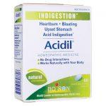 Boiron Acidil 60 Tabs Digestive Health and Fiber