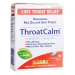 Boiron Throatcalm 60 Tabs Cold and Flu